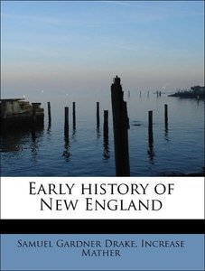 Early history of New England