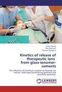 Kinetics of release of therapeutic ions from glass-ionomer-cem