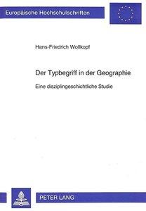 Der Typbegriff in der Geographie