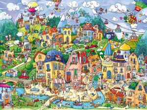 Happytown Puzzle