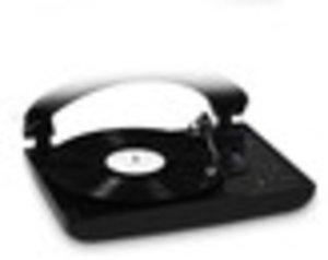 Plattenspieler TD99, mit Riemenantrieb, schwarz