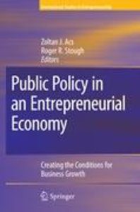 Public Policy in an Entrepreneurial Economy