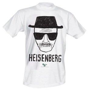 Breaking Bad - Heisenberg - Herren T-Shirt - Weiß - Größe L