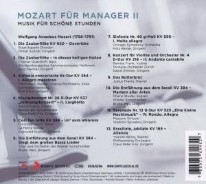 Mozart für Manager Vol. 2