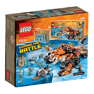 Lego 70232 - Legends of Chima: Säbelzahntigerstamm-Set