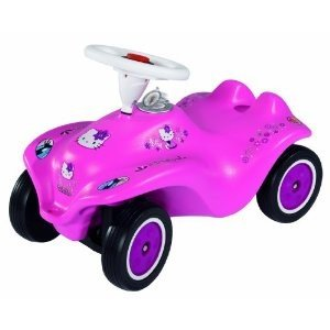 BIG 56190 - New-Bobby-Car Hello-Kitty, rosa