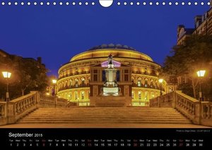 Monuments of the United Kingdom 2015 (Wall Calendar 2015 DIN A4