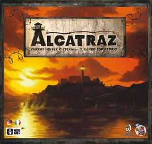 Heidelberger Spieleverlag HE448 - Alcatraz: Verrat hinter Gitter