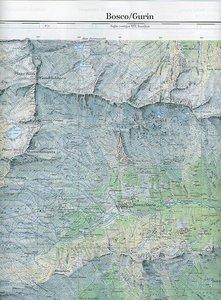 Swisstopo 1 : 25 000 Bosco/Gurin