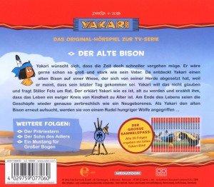 """Yakari 06 """"Der alte Bison"""""""