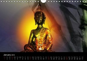 "Buddha (""UK-Version"") (Wall Calendar 2015 DIN A4 Landscape)"