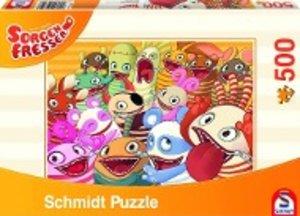 Sorgenfresser, Die Sorgenfresser, 500 Teile Puzzle