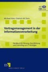 Vertragsmanagement in der Informationsverarbeitung
