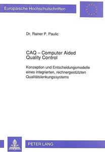 CAQ - Computer Aided Quality Control