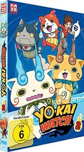Yo-kai Watch DVD Box 2 (Episoden 14-26) (2 DVD's)
