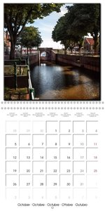 East Friesland - the old harbour Greetsiel (Wall Calendar 2015 3