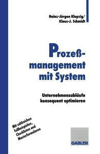 Prozeßmanagement mit System