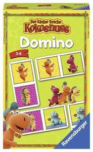 Der kleine Drache Kokosnuss Domino Mitbringspiele