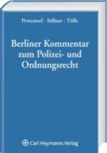 Berliner Kommentar zum Polizei- und Ordnungsrecht