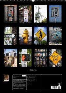 street view/ Blick auf die Strasse (Posterbuch DIN A4 hoch)