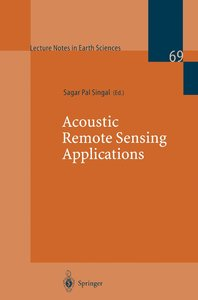 Acoustic Remote Sensing Applications