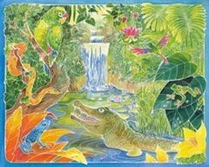 Exotische Tiere. Aquarelle-Malen Maxi