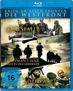 Krieg an allen Fronten: Die Westfront - 3 Filme auf 1 Blu-ray