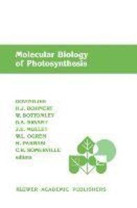 Molecular Biology of Photosynthesis