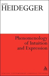 Phenomenology of Intuition and Expression: Theory of Philosophic