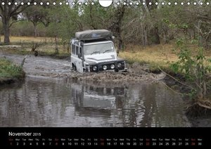 Off-road adventures in Africa (Wall Calendar 2015 DIN A4 Landsca