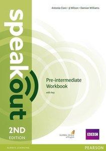Speakout Pre-Intermediate. Workbook with Key
