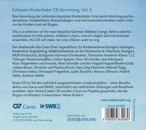 Kinderlieder Vol.3