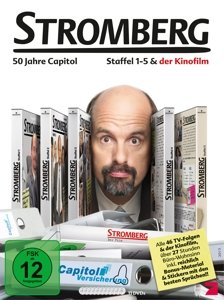 Stromberg-Box - Staffel 1-5 + Film