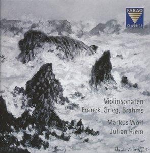 Violinsonaten - Franck, Grieg, Brahms