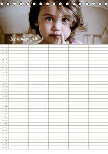 Schokoladengesichter - Familienplaner (Tischkalender 2016 DIN A5