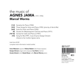 The Complete Musical Works of Agnes Jama