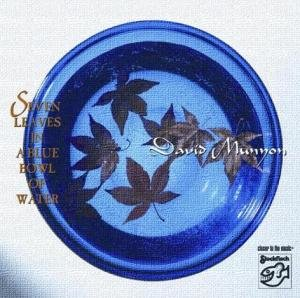 Seven Leaves In A Blue Bowl Of Water