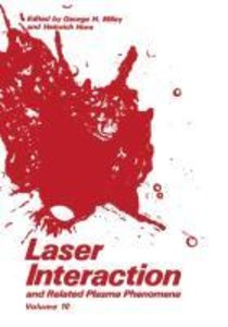 Laser Interaction and Related Plasma Phenomena