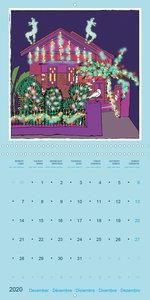 An illustrated journey through Sydney (Wall Calendar 2020 300 ×