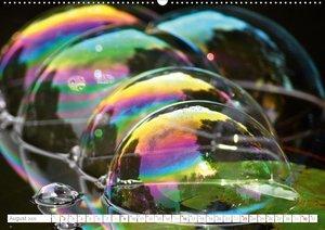 Seifenblasen Skulpturen und Strukturen