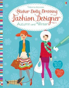 Sticker Dolly Dressing Fashion Designer Autumn and Winter Collec