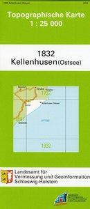 Kellenhusen (Ostsee) 1 : 25 000