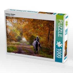 Goldener Oktober 1000 Teile Puzzle quer