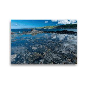 Premium Textil-Leinwand 45 cm x 30 cm quer An der Kahili Bay