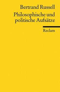 Philosophische und politische Aufsätze