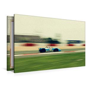 Premium Textil-Leinwand 120 cm x 80 cm quer Supersports Racing