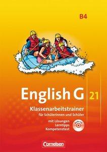 English G 21, Ausgabe B 4: 8. Schuljahr. Klassenarbeitstrainer m