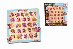 Masha Steckpuzzle, Buchstaben (Kinderpuzzle)
