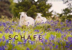 Schafe - Weich und wollig (Wandkalender 2018 DIN A3 quer)
