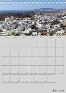 Kykladen, Perlen der Ägäis (Tischkalender 2018 DIN A5 hoch)